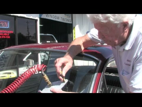 Fixing A Windshield Chip On A Classic Car - Advanced Windshield Repair