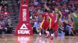 Jame Harden Goes Off for 33 on the Jazz