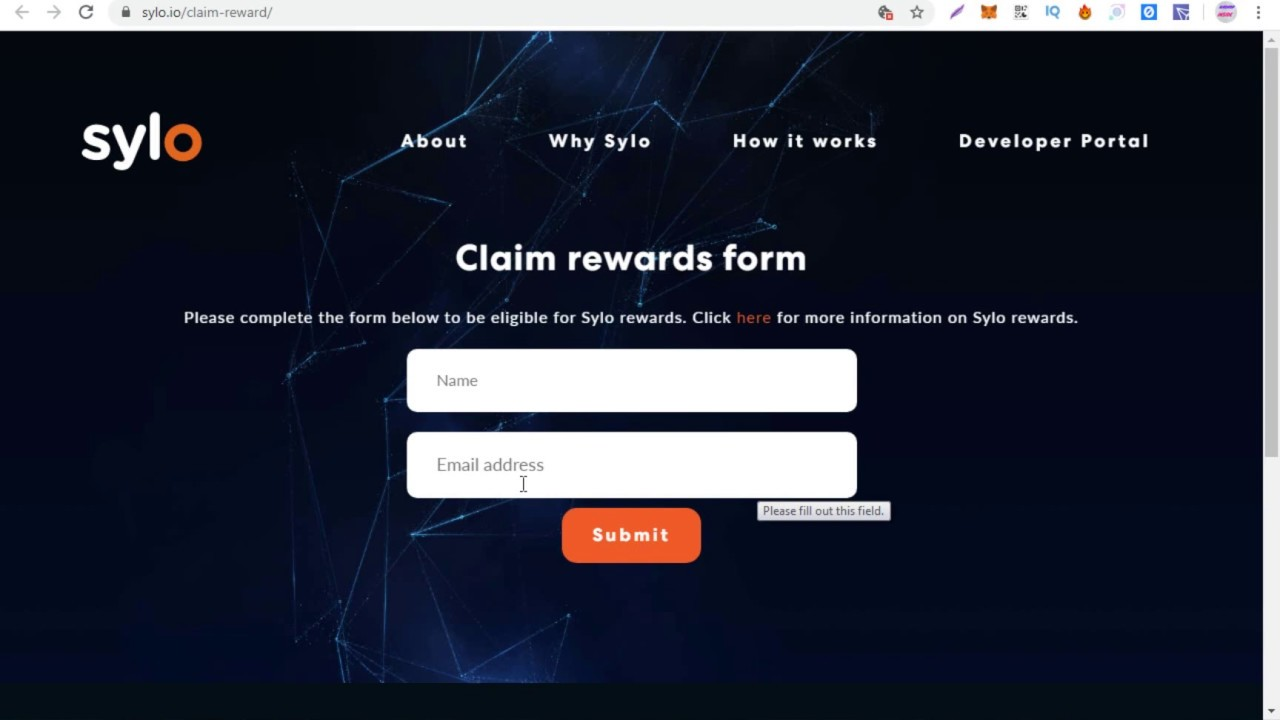 Claim Sylo Token Applicatoin Rewards ll kucoin Listed 1