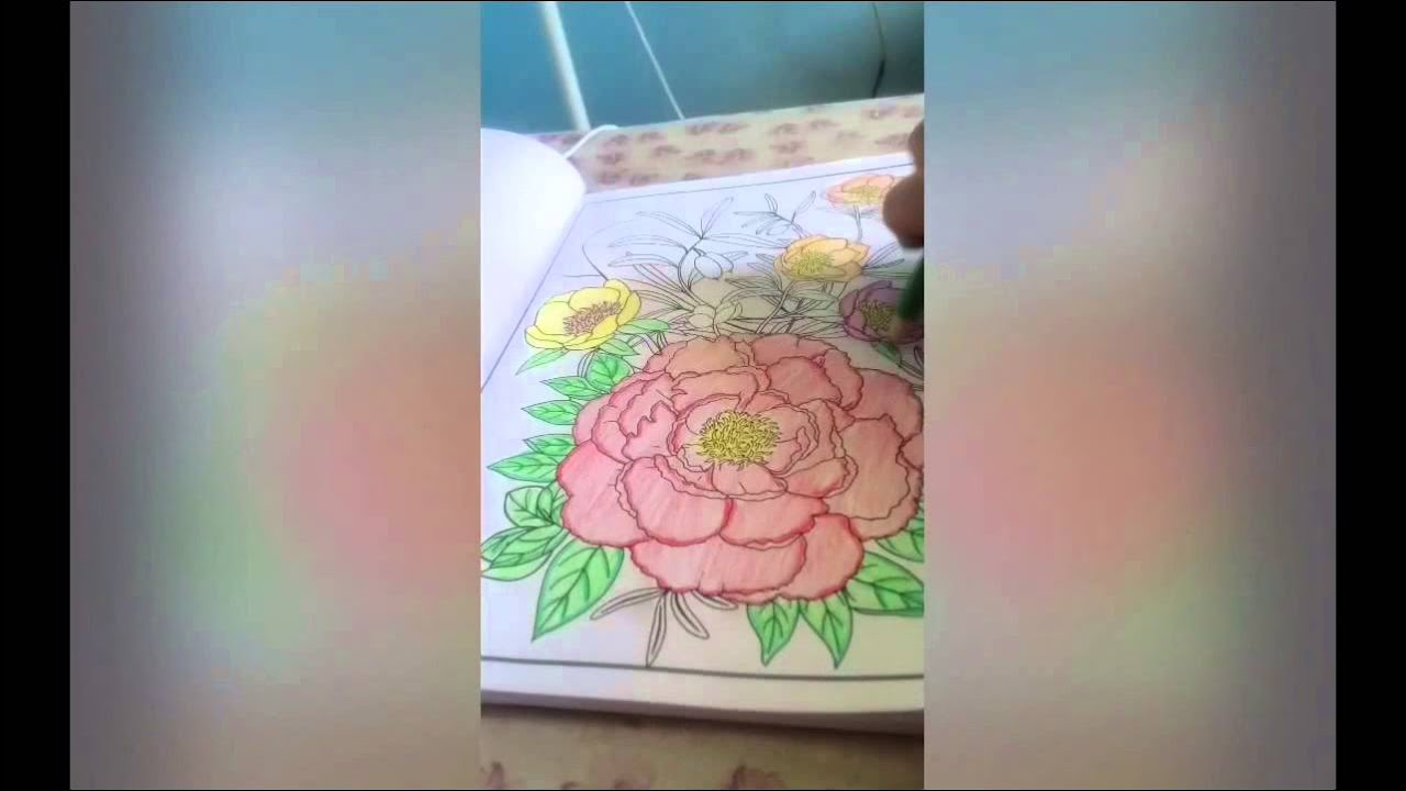 Coloring 101 Floral Design Of Creative Minds Book No 7