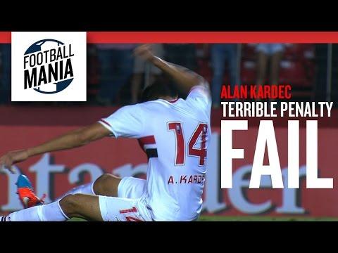 Alan Kardec (São Paulo) Terrible Penalty FAIL! Vs. Atl. Nacional - Copa Sudamericana 2014