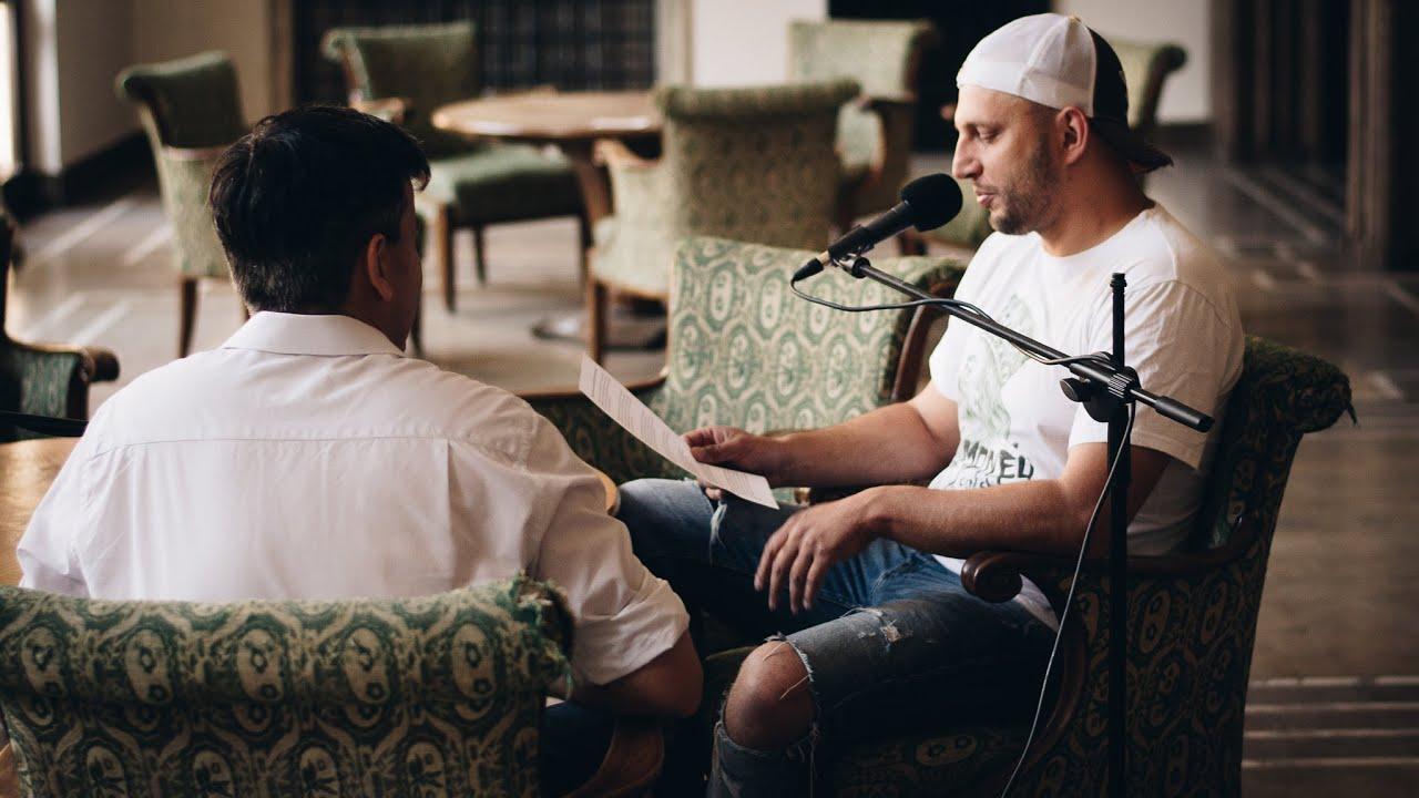 Wywiad z nowohuckim Bohaterem w Pałacu Dożów