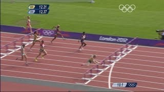 Sally Pearson Sets Fastest Qualifying Time In Olympic History - 100m Hurdles - London 2012 Olympics