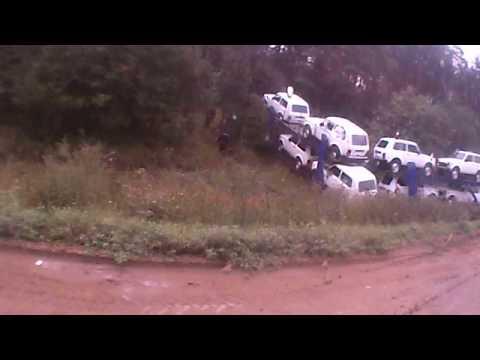 ДТП куча нив лежит в кювете 9 июня 2013
