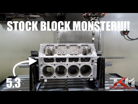 building the WORLDS MOST POWERFUL 5 3L LS ENGINE!!!!!