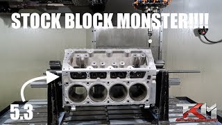 building the WORLDS MOST POWERFUL 5.3L LS ENGINE!!!!!
