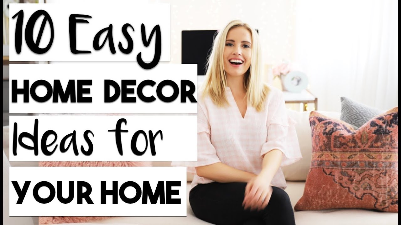 [VIDEO] - INTERIOR DESIGN | TOP 10 Best Home Decor Items to Decorate your Rented Apartment for Spring! 1