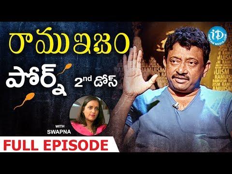 RGV Talks About Pornography - Full Episode | Ramuism 2nd Dose | #Ramuism | Telugu
