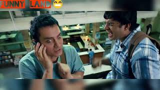 3 idiot chatur comedy sin || amir khan comedy sin || funny land comedy sin