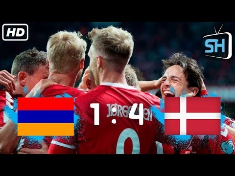 Armenia Vs Denmark 1-4 World Cup Qualifiers All Goals And Highlights September 4,2017