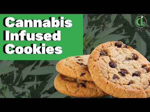 Easy Cannabis Chocolate Chip Cookie Recipe