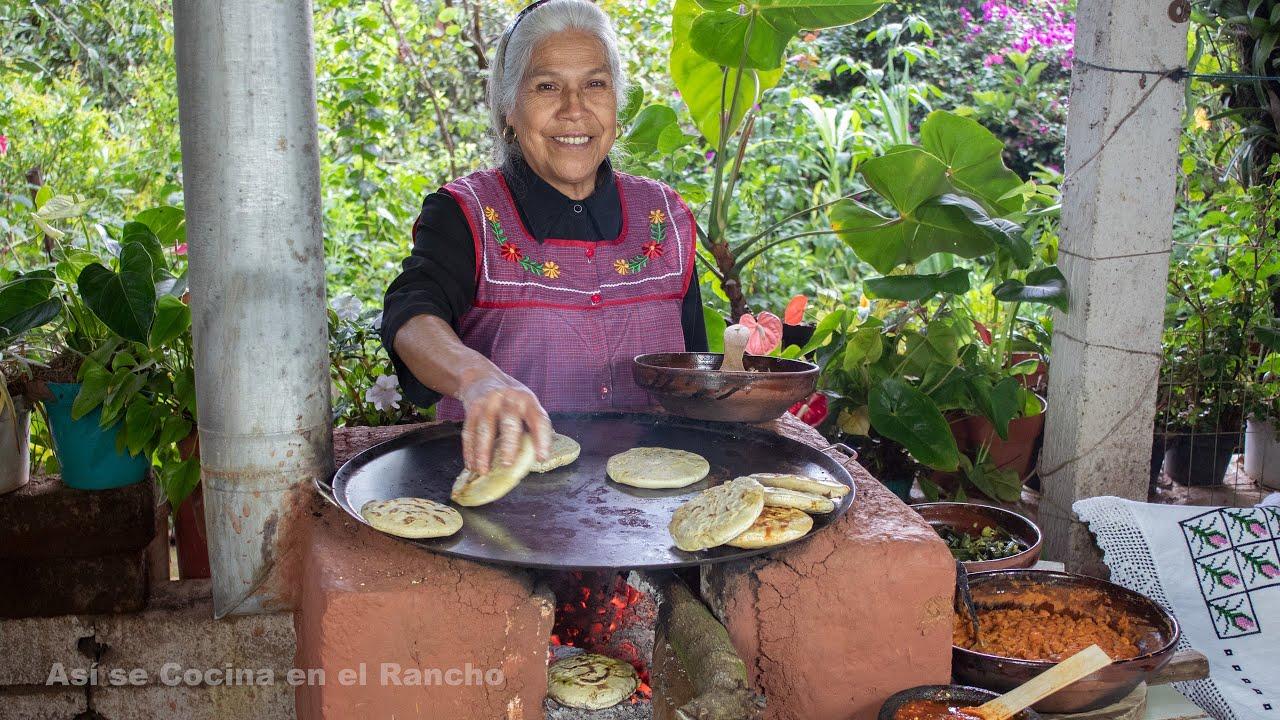 Gorditas Encuevadas de Comal Así se Cocina en el Rancho