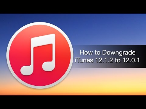 How to Downgrade iTunes 12.1.2 to 12.0.1 – iPhone Hacks
