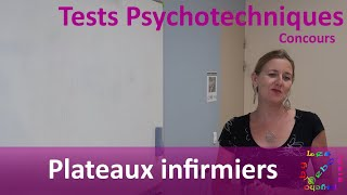 Les tests psycho by Debo - Plateaux infirmiers - Tests psychotechniques