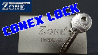 (1333) Zone Shipping Container (Conex) Lock Picked & Gutted