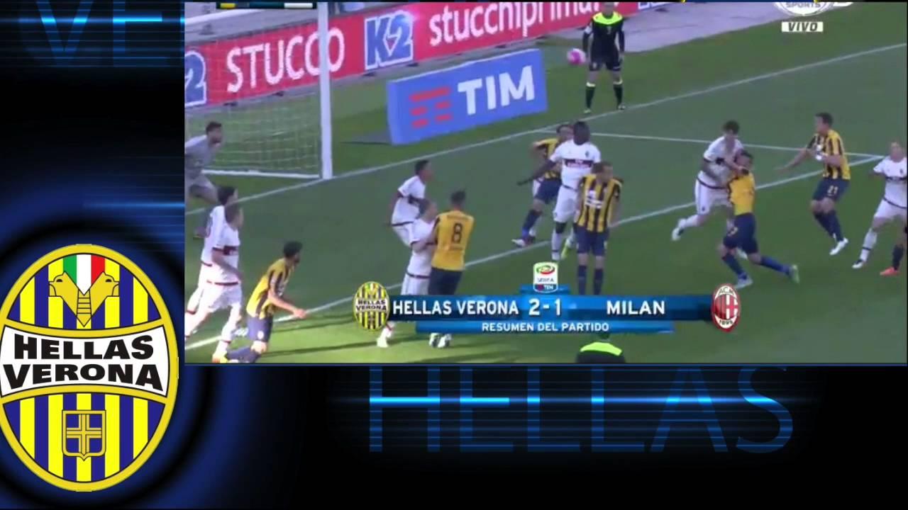 Hellas Verona 2 - 1 AC Milan, Highlights, Serie A 2016 ...