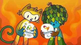 Conheça os mascotes vinicius e tom - meet the mascots | rio 2016
