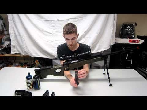 Airsoft GI's Fully Upgraded G98 Airsoft Sniper Rifle Review