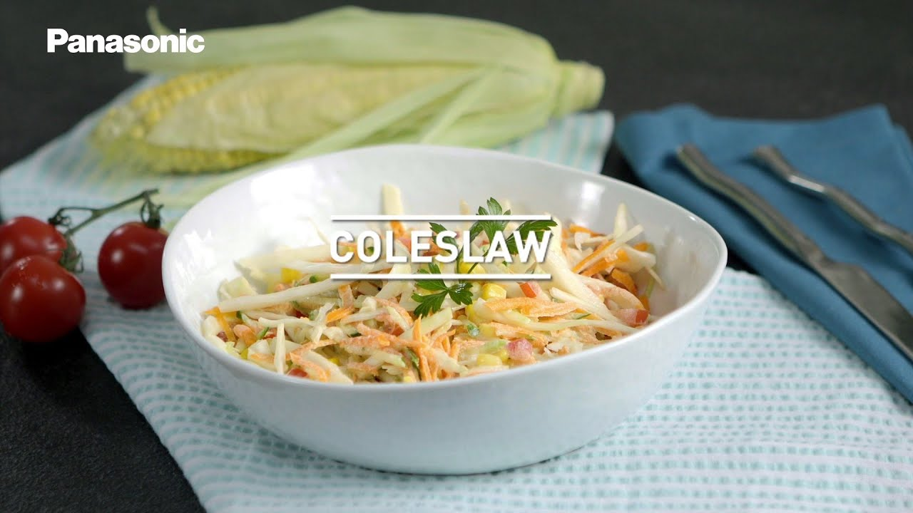 How To Make Coleslaw In A Food Processor