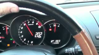 RX-8 Acceleration 231HP 220km/h Wroclaw ring 1st Nov. 2011