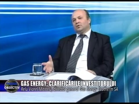 Emisiune Media Obiectiv - Relu Viorel Mititelu, dir. gen. Gas Energy Ecotherm SA - 18 aprilie 2016