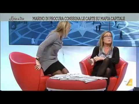 Lite Mussolini - Meli: 'Ti do un cartone', 'Vaiassa', 'E' un pollaio', 'Vaffanc**o!'