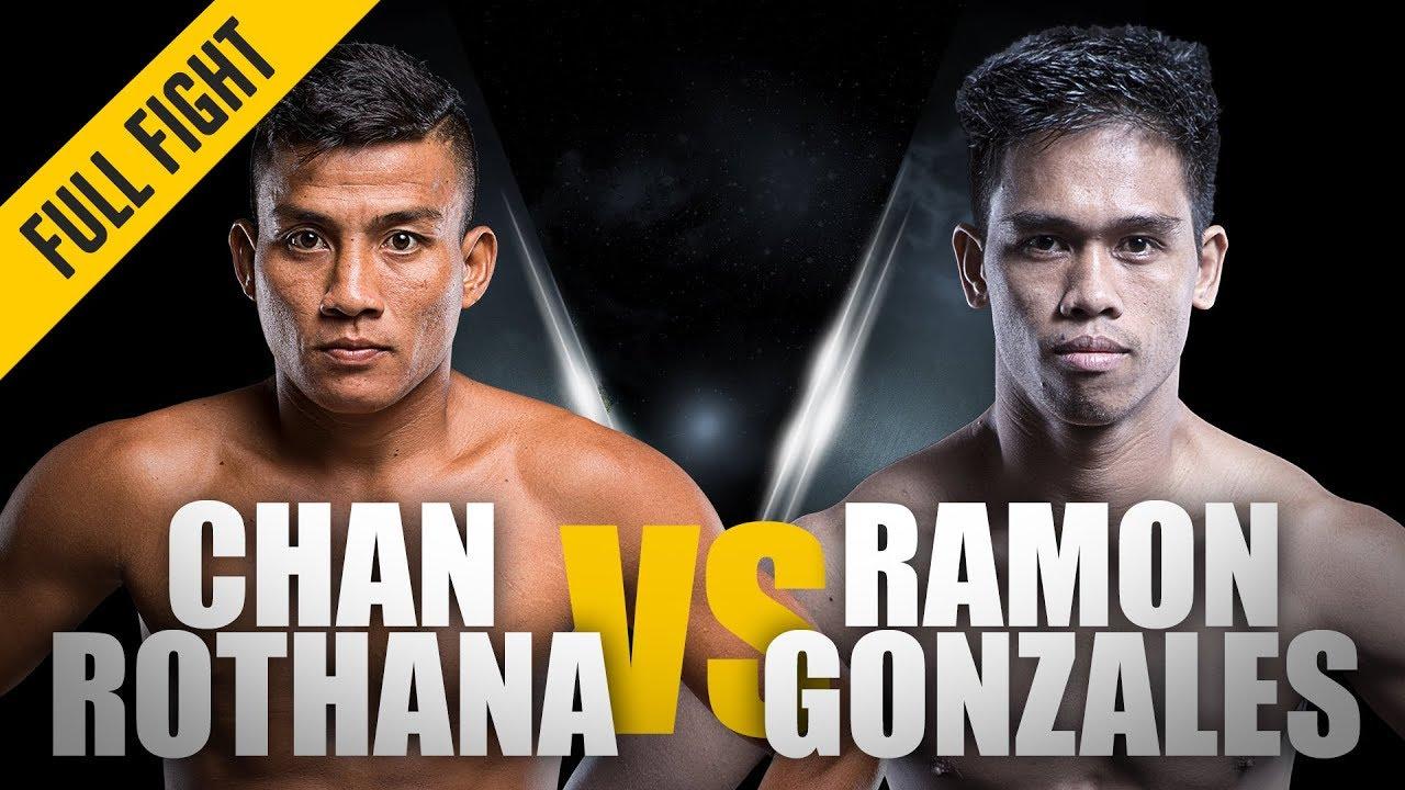 ONE: Full Fight   Chan Rothana vs. Ramon Gonzales   Historic Win   March 2015