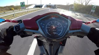 HONDA WAVE 110i TOP SPEED