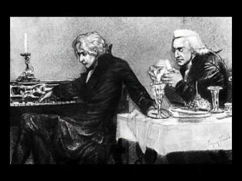 Буктрейлер. А С Пушкин Моцарт и Сальери