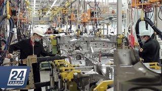 Автомобили восьми мировых брендов собирают на костанайском заводе