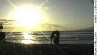 hatha yoga sun salutation flow by mark giubarelli