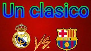 Jugando un clasico!!! |fifa 18 /