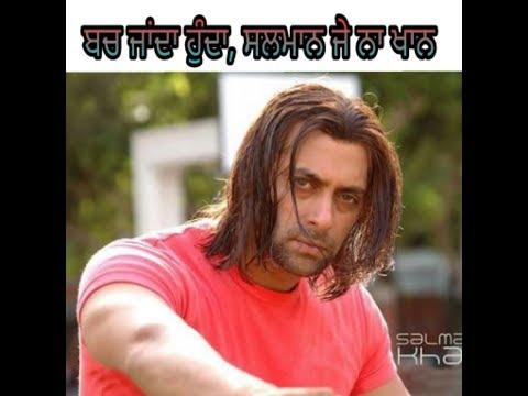 Salman khan ! Ashiqa di line Babbu maan WhatsApp status