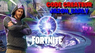 DÉCOUVERTE DE LA SAISON 10 DE FORTNITE BATTLE ROYALE +600 WINS CODE CREATEUR JAZON_EARLY