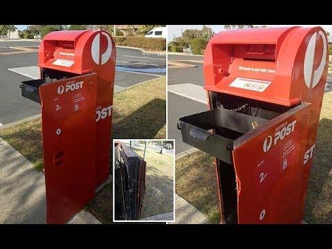 Thieves break into post box in Perth