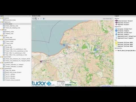 Logistics Web Platform GeoWeastflows