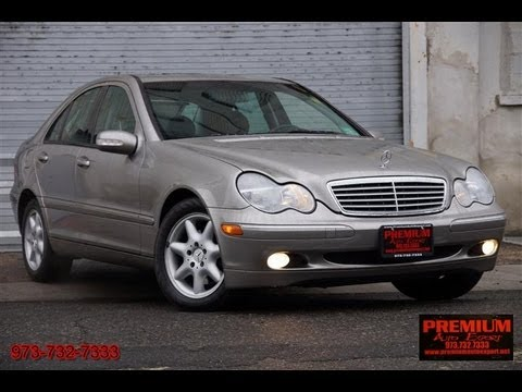 2004 mercedes benz c class c240 4matic youtube. Black Bedroom Furniture Sets. Home Design Ideas