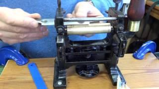 Leather Belt Skiving and Splitting Machine