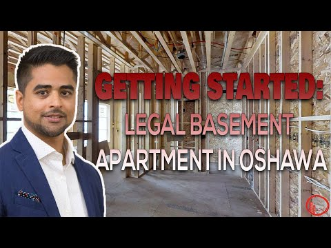 Getting Started: Legal basement Apartment in Oshawa