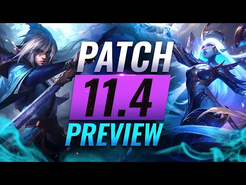 NEW PATCH PREVIEW: Upcoming Changes List For Patch 11.4 - League Of Legends