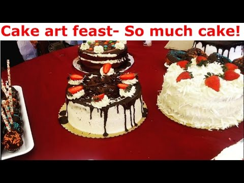 Cake art affair! 2017 Cake, music and dance! Nairobi vlog.