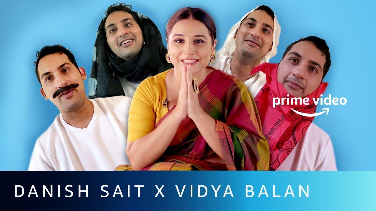 Danish Video calls Vidya Balan | Shakuntala x French Biriyani | Amazon Prime Video