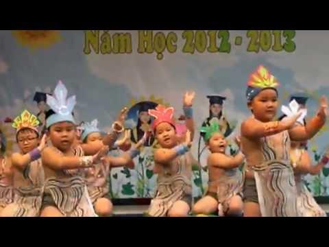 Múa Dòng Máu Lạc Hồng lớp Lá - Mầm non Đức Tuấn