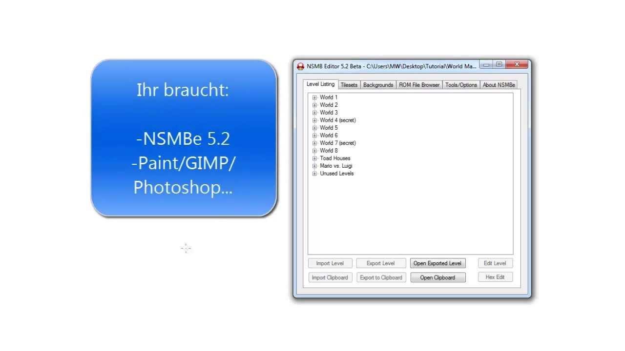 Nsmb tutorial world map editing german youtube nsmb tutorial world map editing german gumiabroncs Choice Image