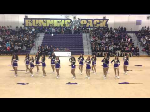 2014-2015 Livingston High School Color Guard-Winter Sports Rally