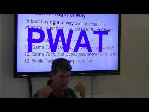 Racing Rules of Sailing 2017-2020. Part 1 When Boats Meet