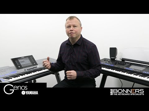 Yamaha Genos Playlist vs Tyros Music Finder