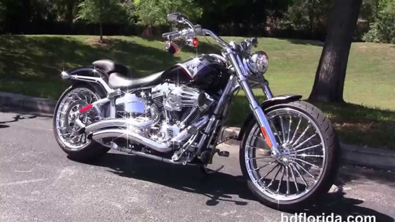 used 2013 harley davidson cvo breakout motorcycles for sale - youtube