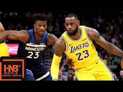 Los Angeles Lakers vs Minnesota Timberwolves Full Game Highlights | 10.29.2018, NBA Season