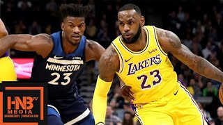 Los Angeles Lakers vs Minnesota Timberwolves Full Game Highlights | 10.29.2018, NBA Season